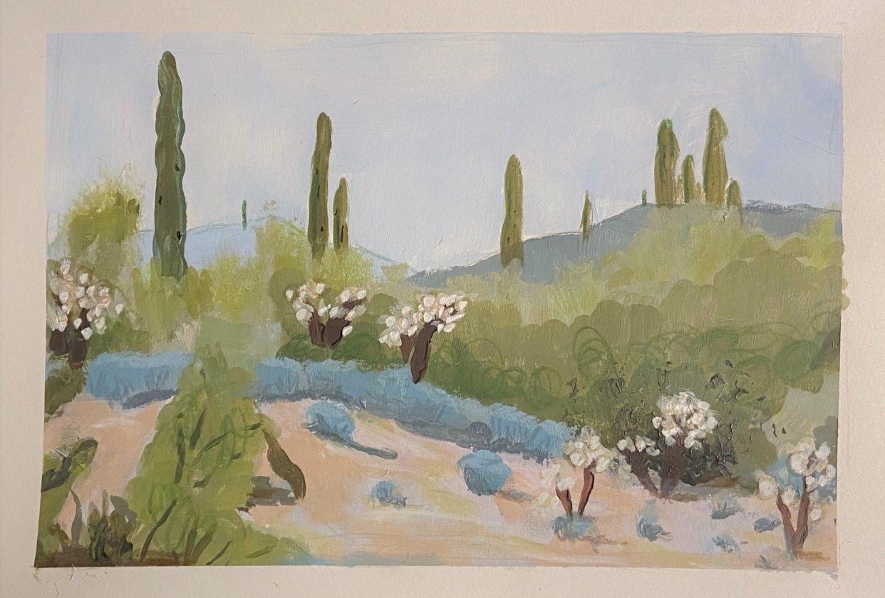 Desert Landscape Attempt - student project