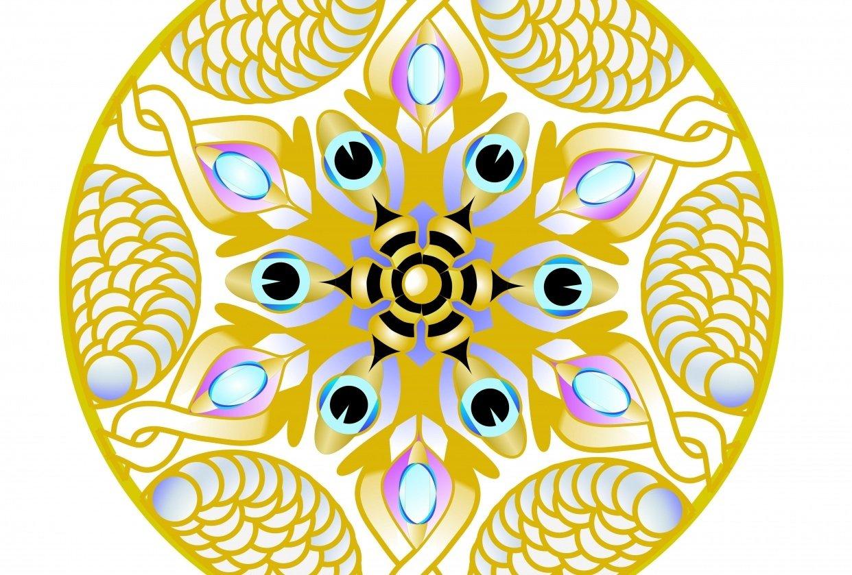 Mandala art - student project