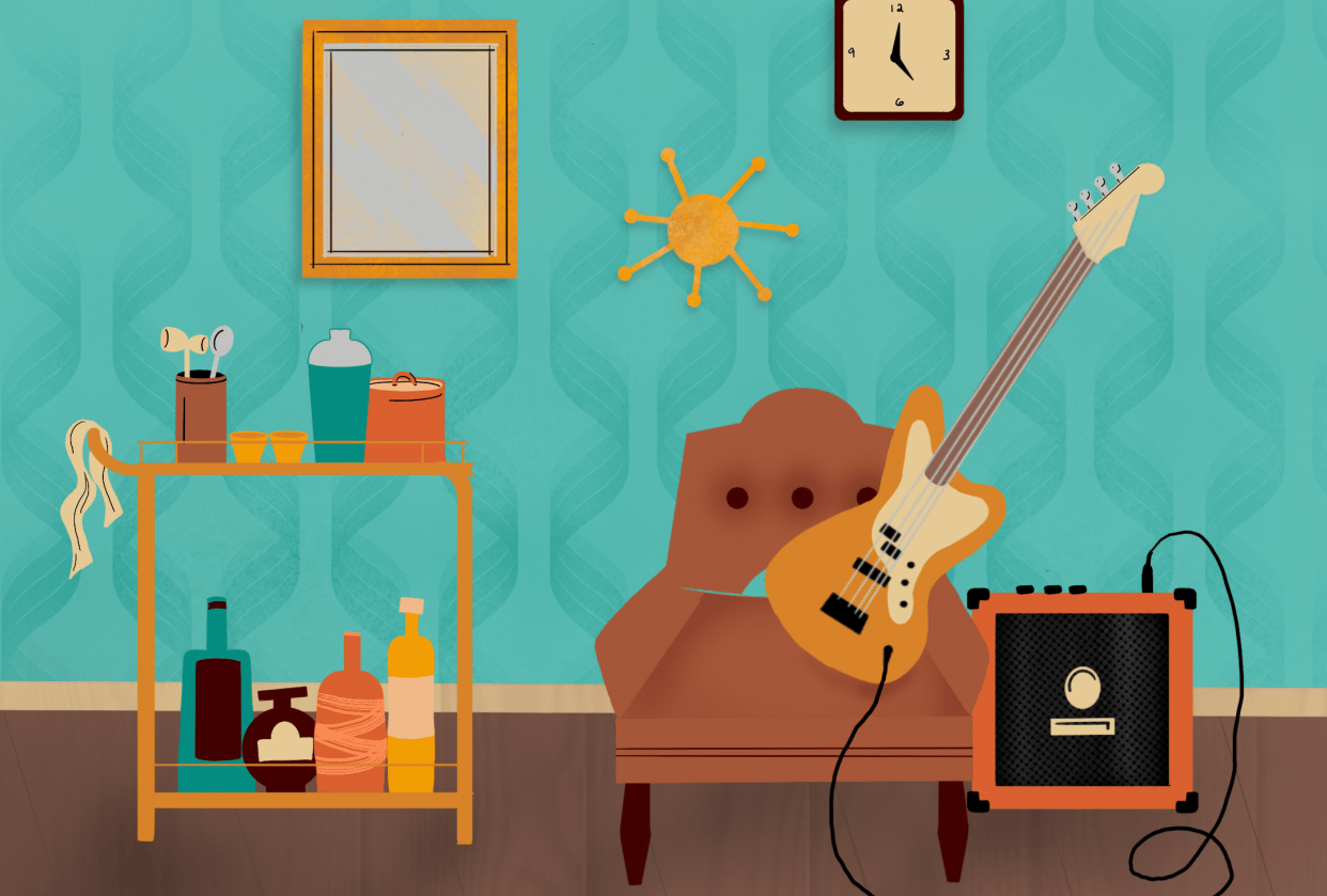 Fun with spaces: 70's Vibes - student project