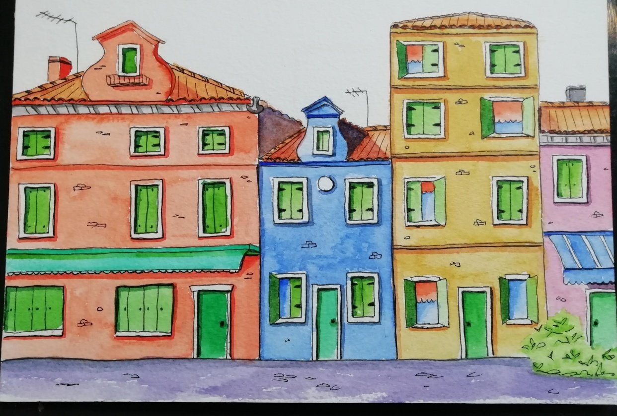 Italian houses - student project
