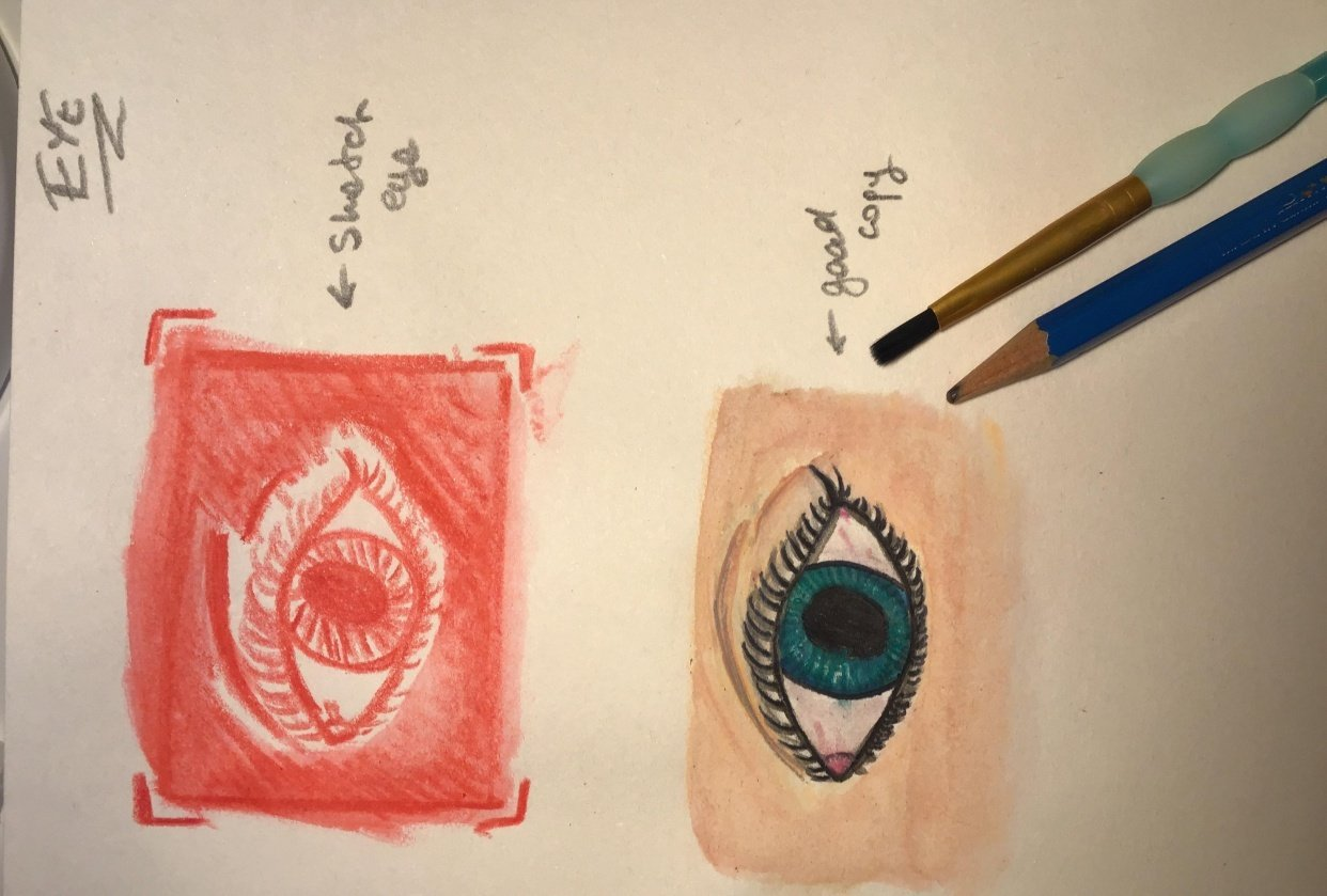 Ma watercolors art! - student project