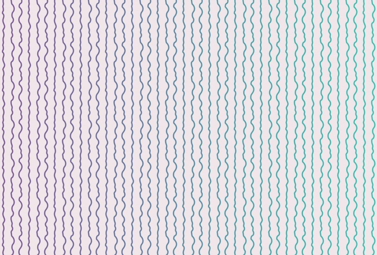 Wavy Vertical Stripes - student project