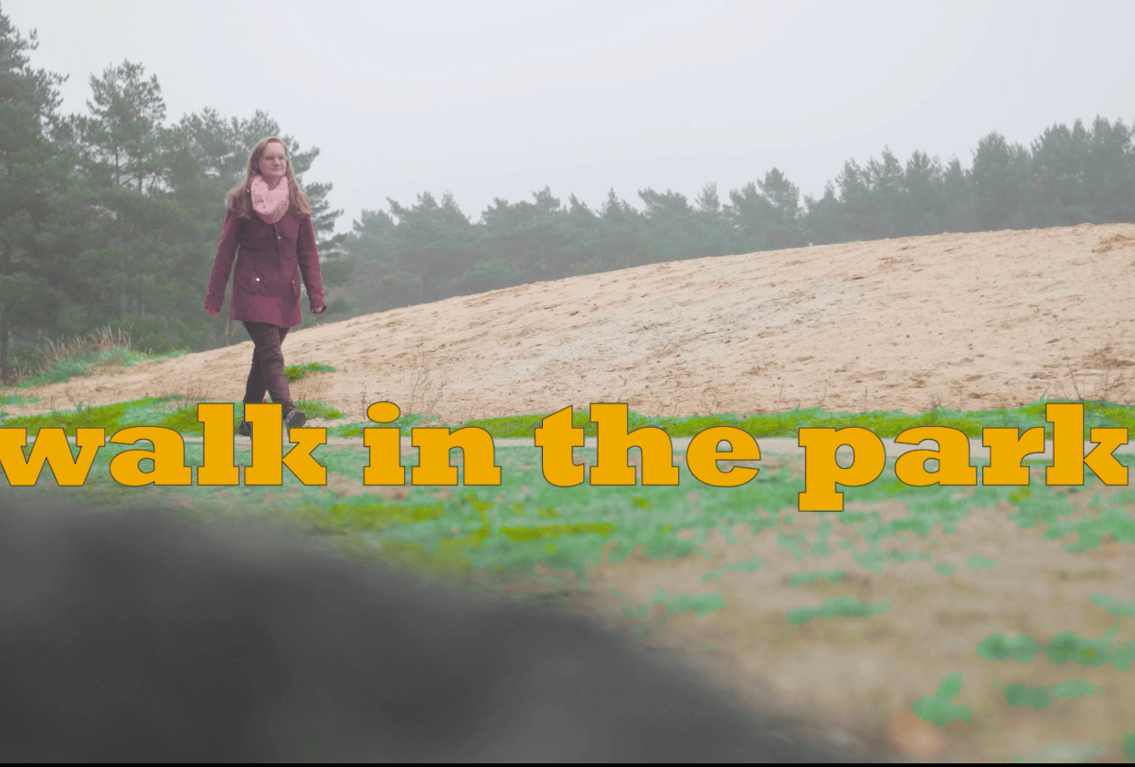 My project walk in the park - student project