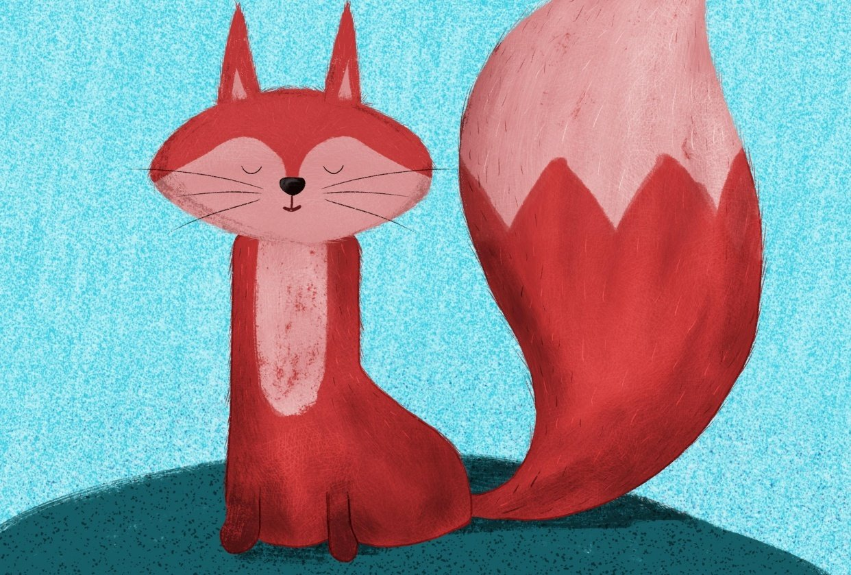 Illustrated Fox - student project