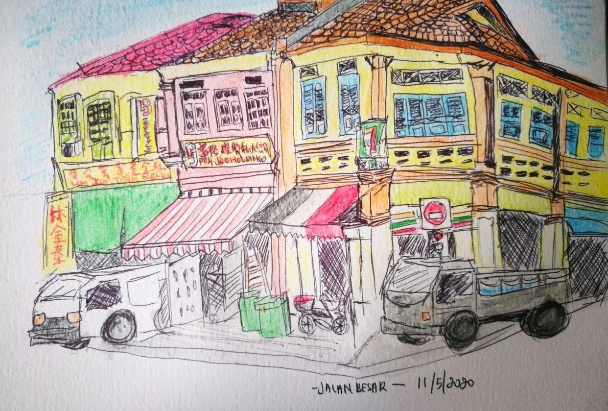 Jalan Besar - student project