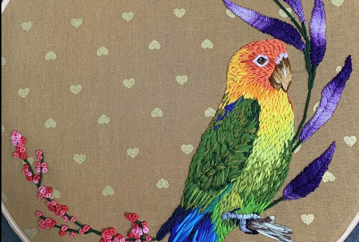 Love Bird - student project