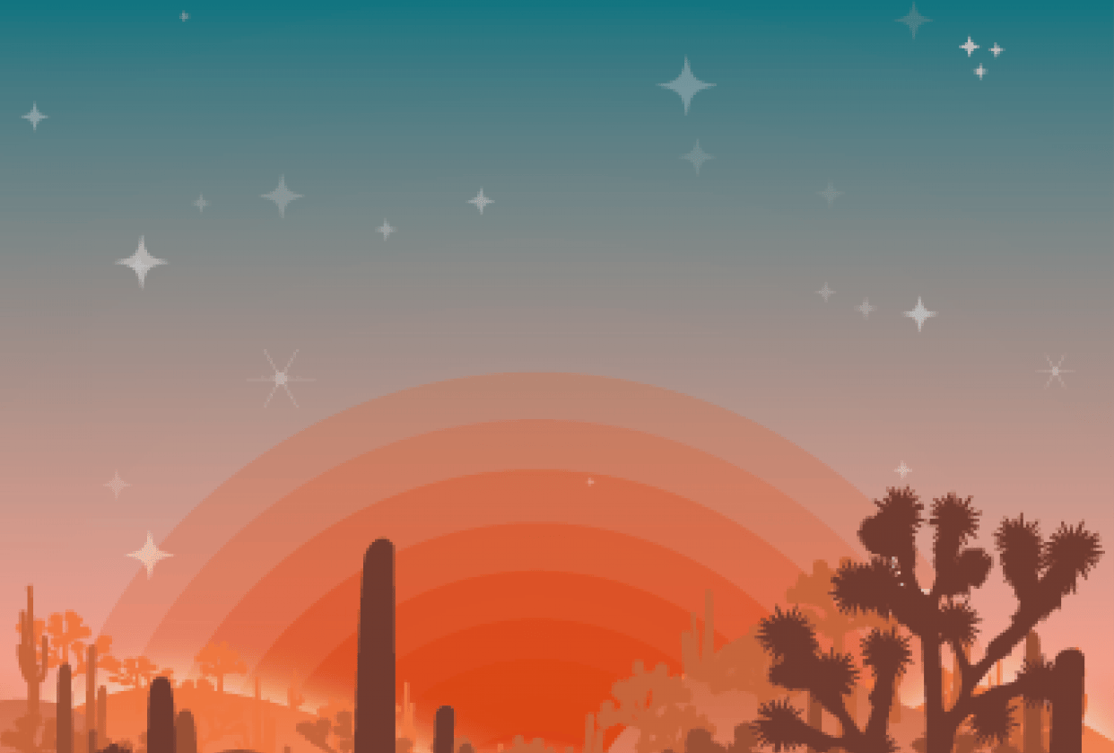 Arizona Desert - student project