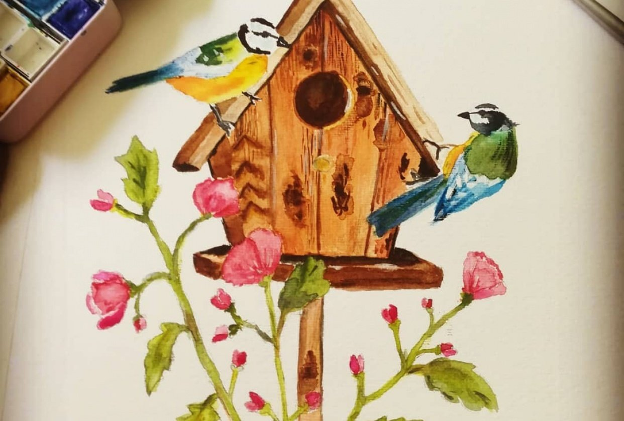 Birdhouse - student project