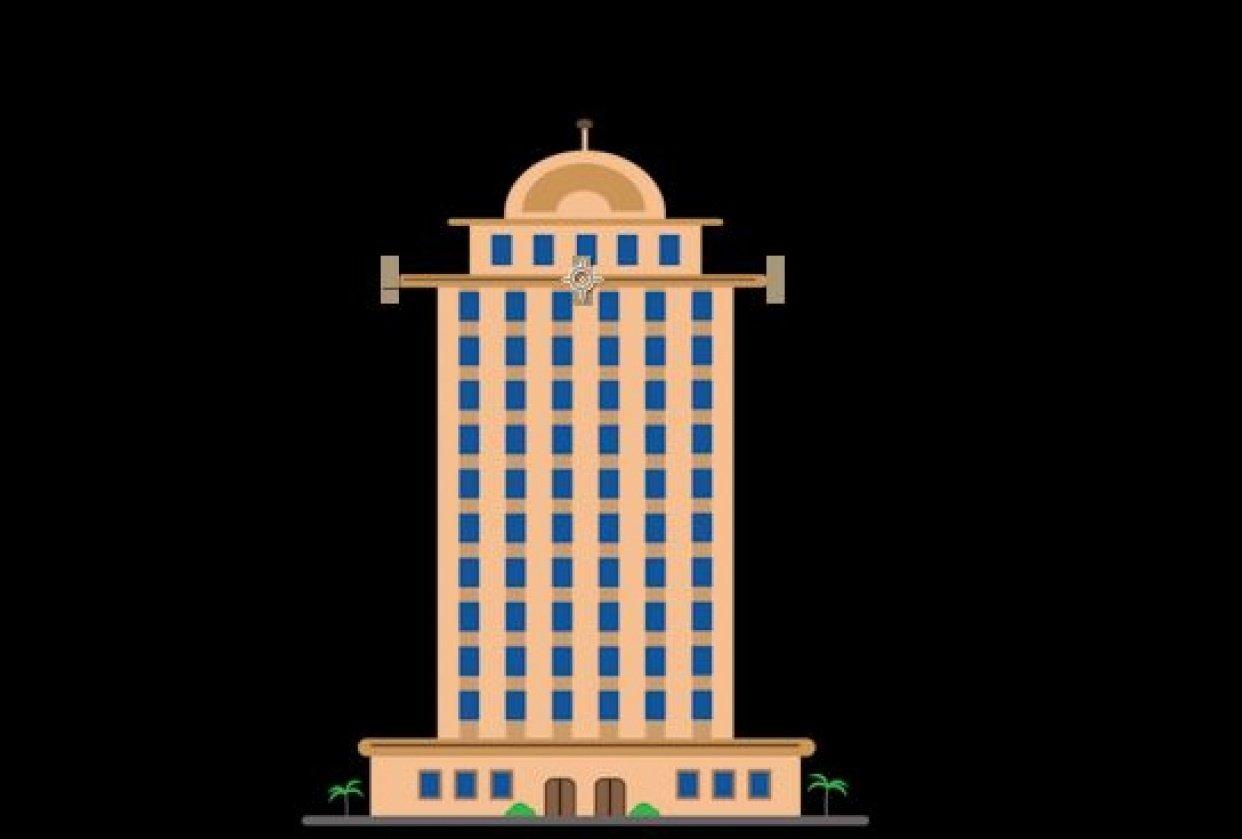 Animated Skyscraper - student project