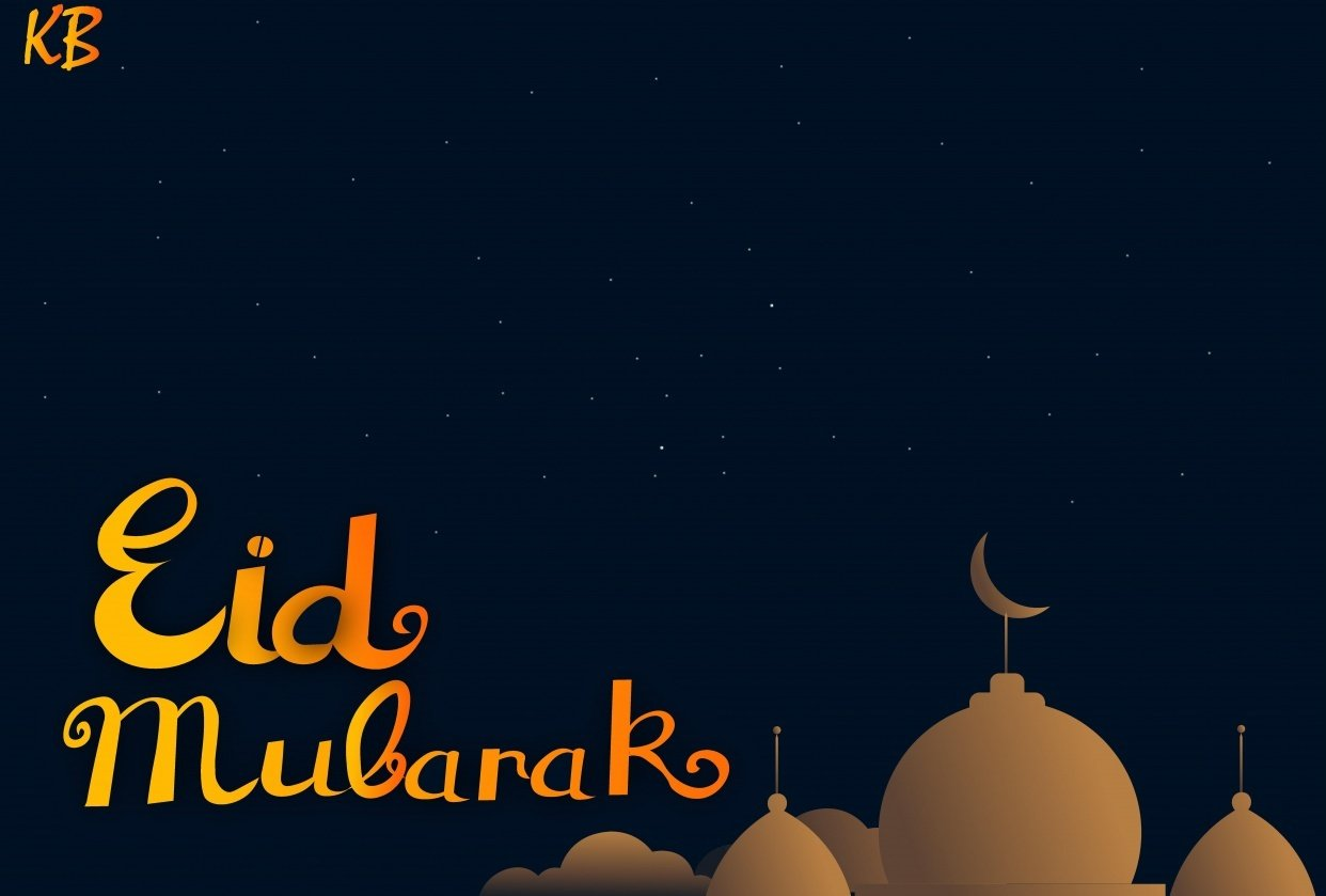 Eid Mubarak Card - student project