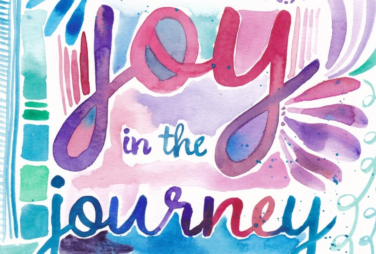 Joy in the journey - student project