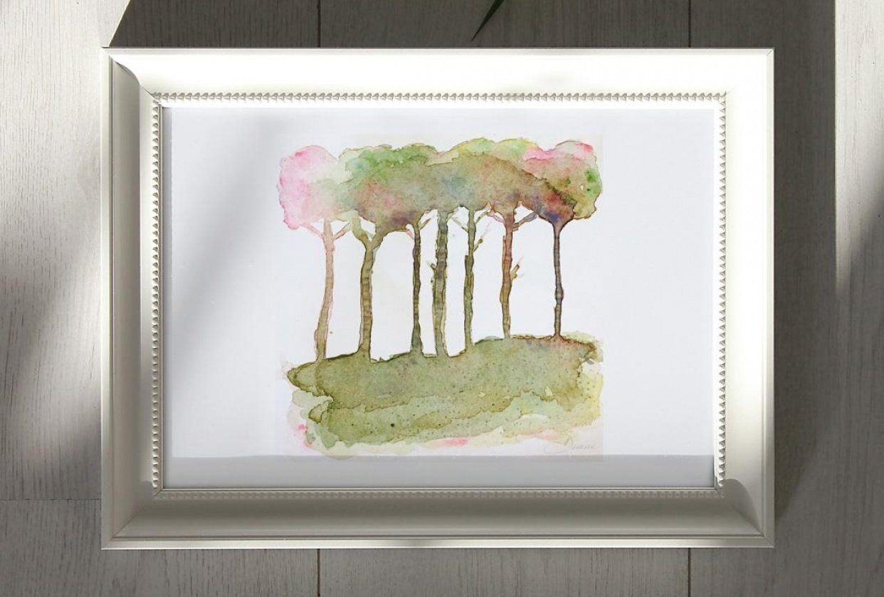 Abstract Trees - student project
