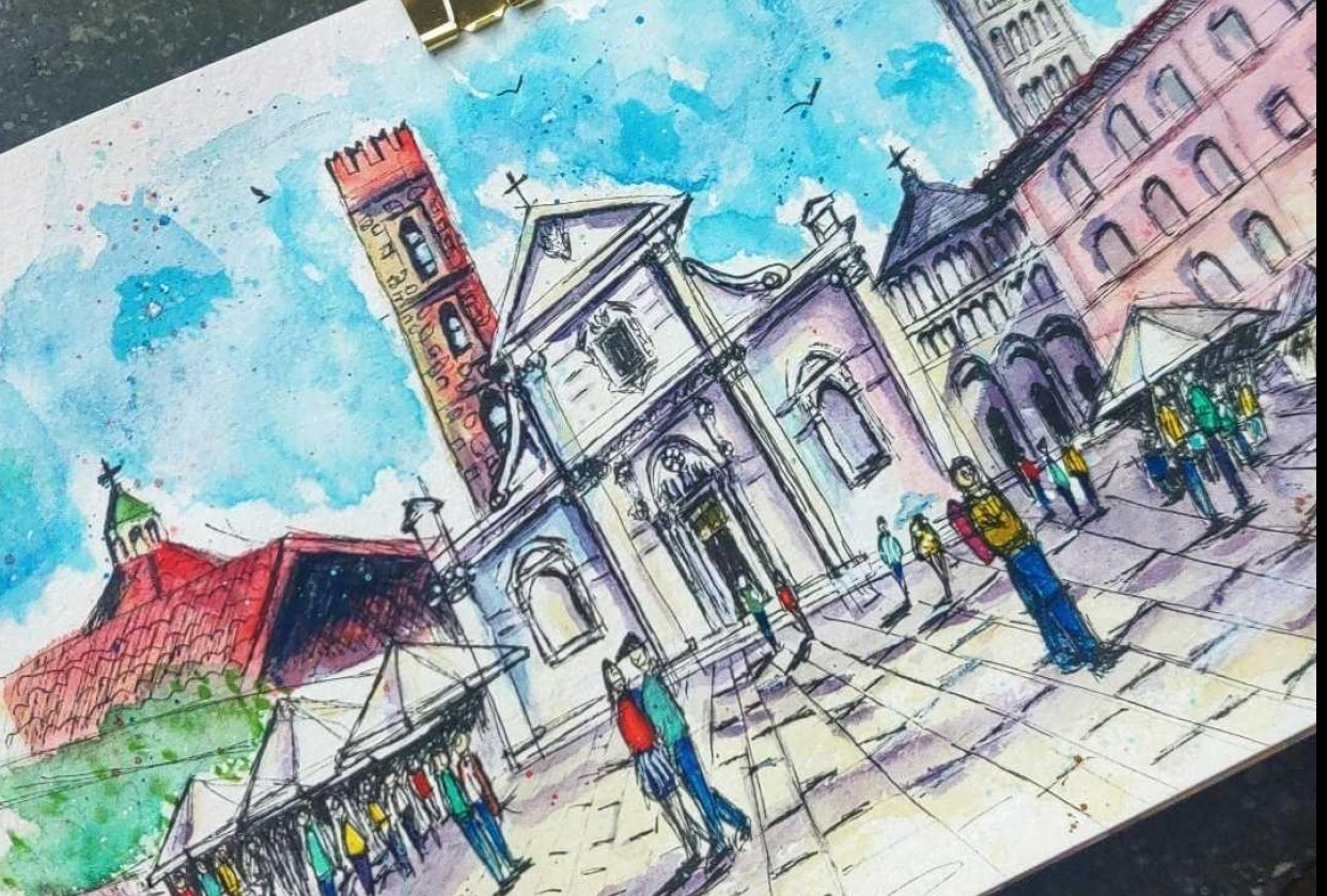 Lucca, Italy - student project
