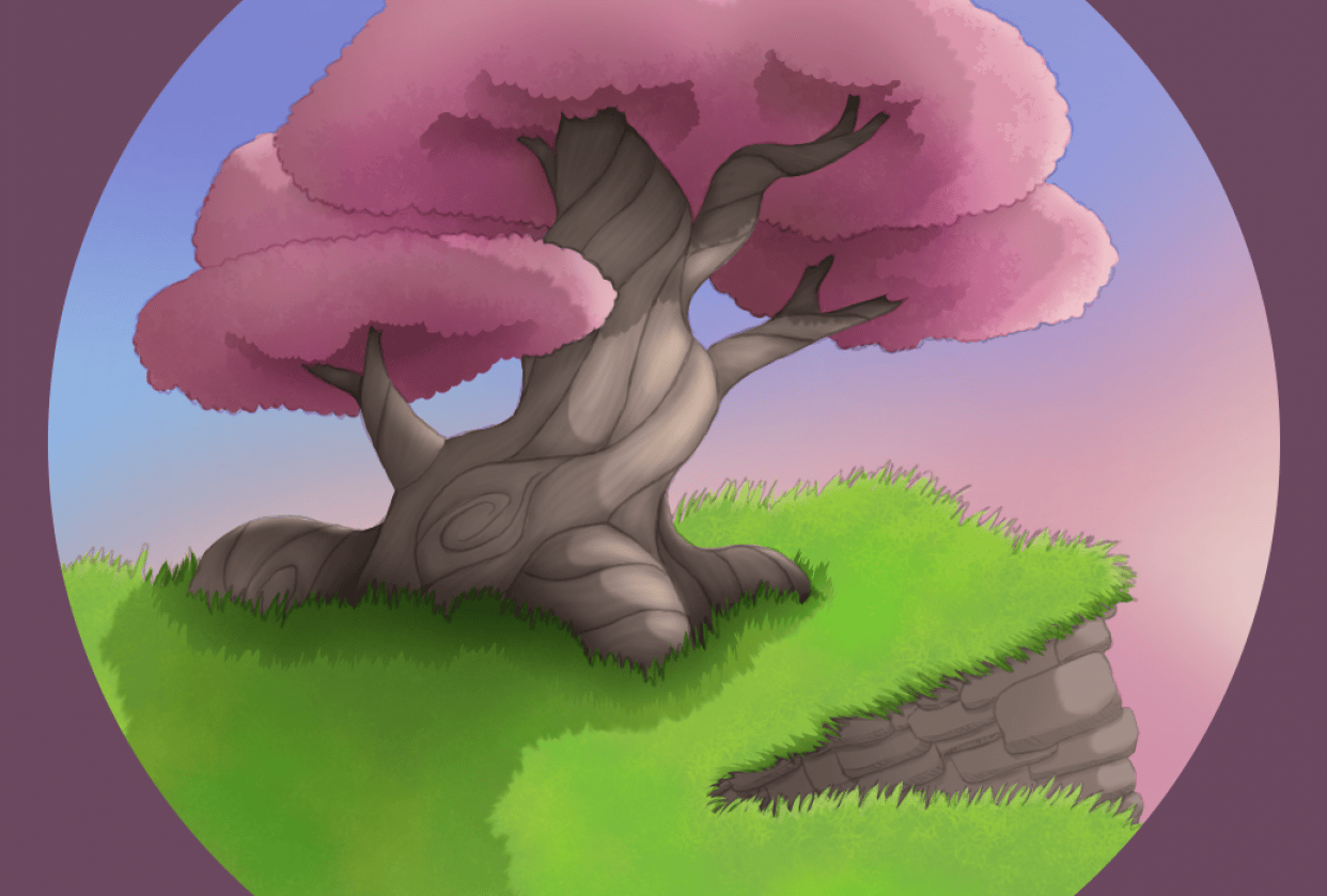 Intro to digital painting on Krita - student project