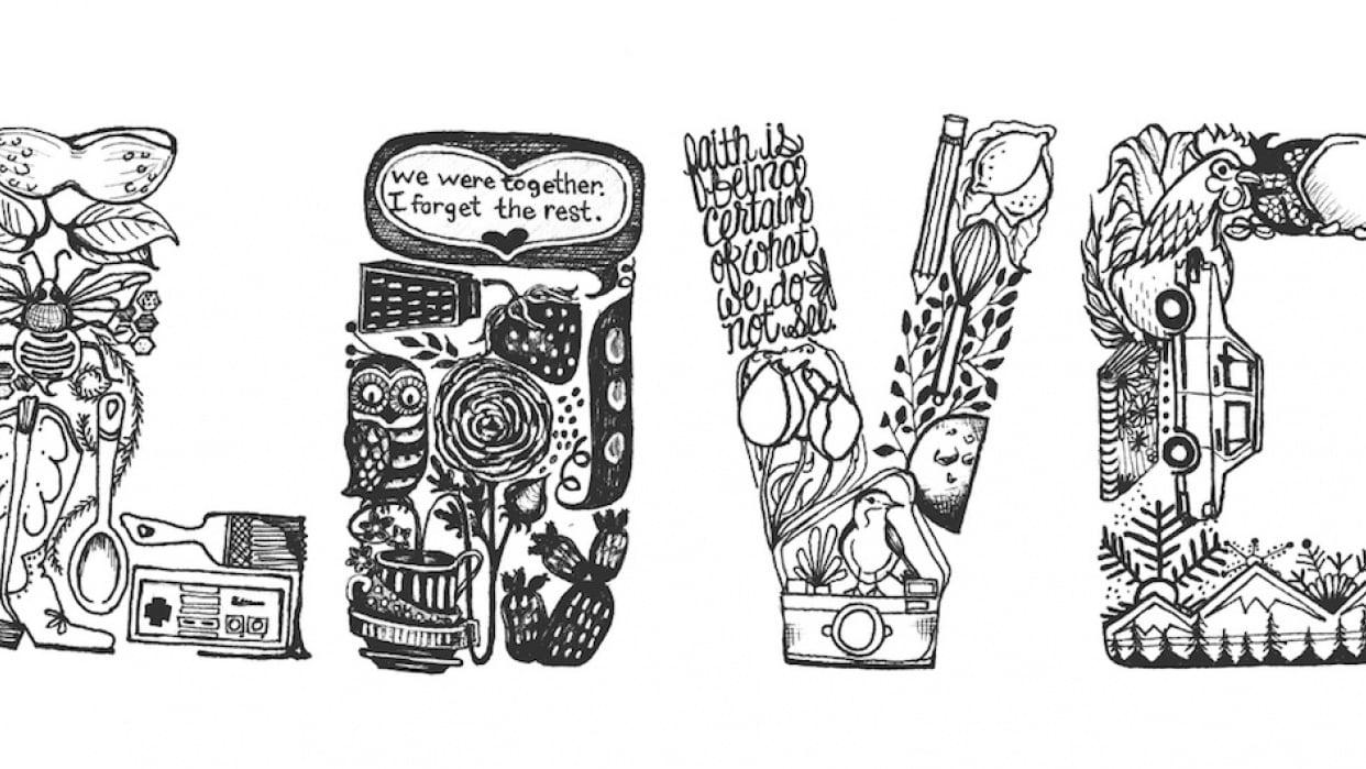 Sarah's Tattoo - student project