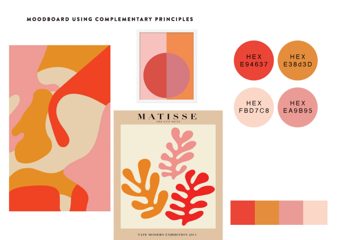 Warm Colors & Matisse - student project