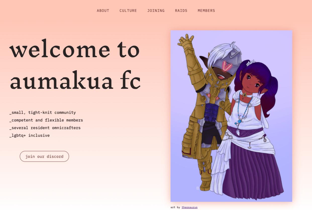 Aumakua Mock Website - student project