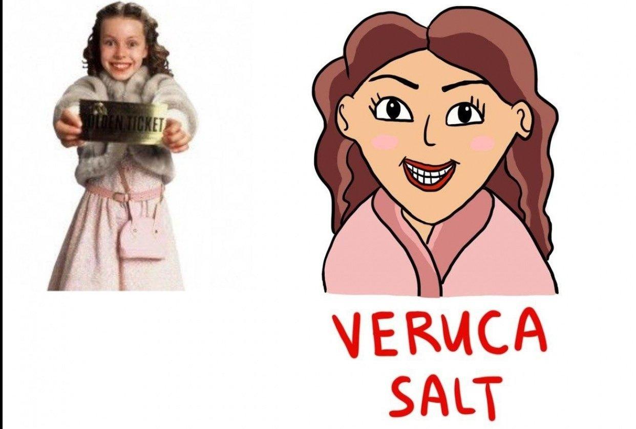 Veruca Salt - student project