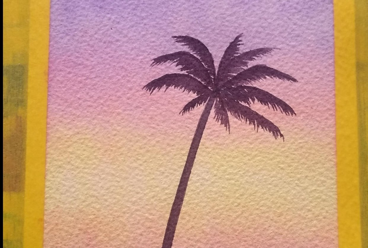palm tree - student project