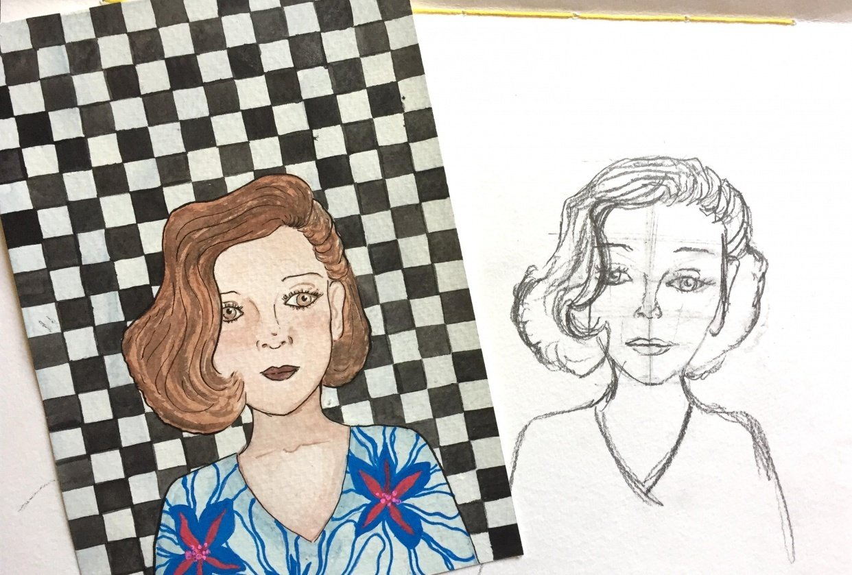 pattern lady - student project