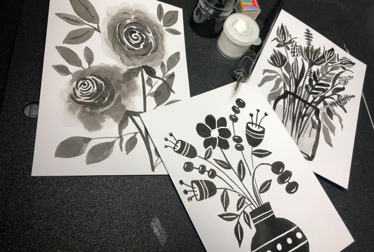 Black Botanicals - student project