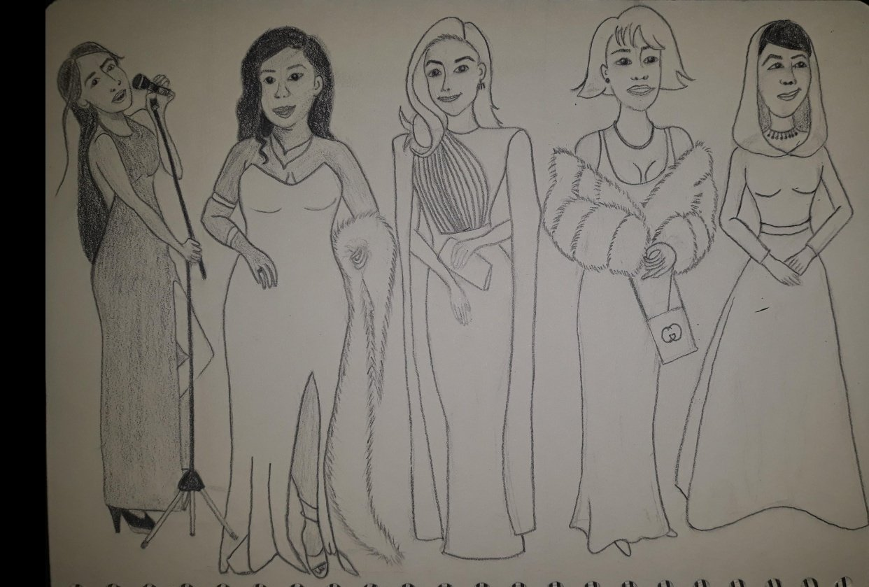 Assignment - 5 to 6 Female Drawings - student project
