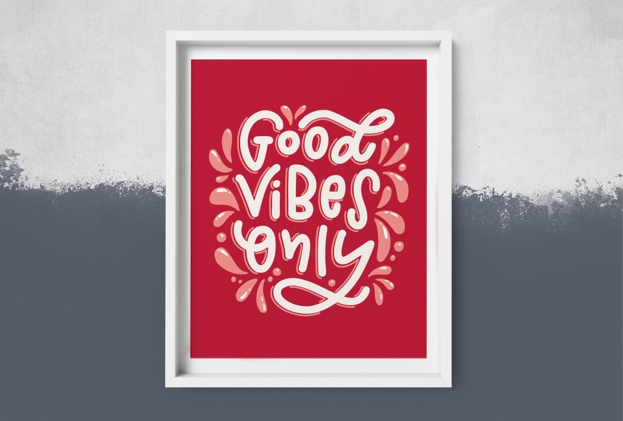 Good Vibes Only - student project