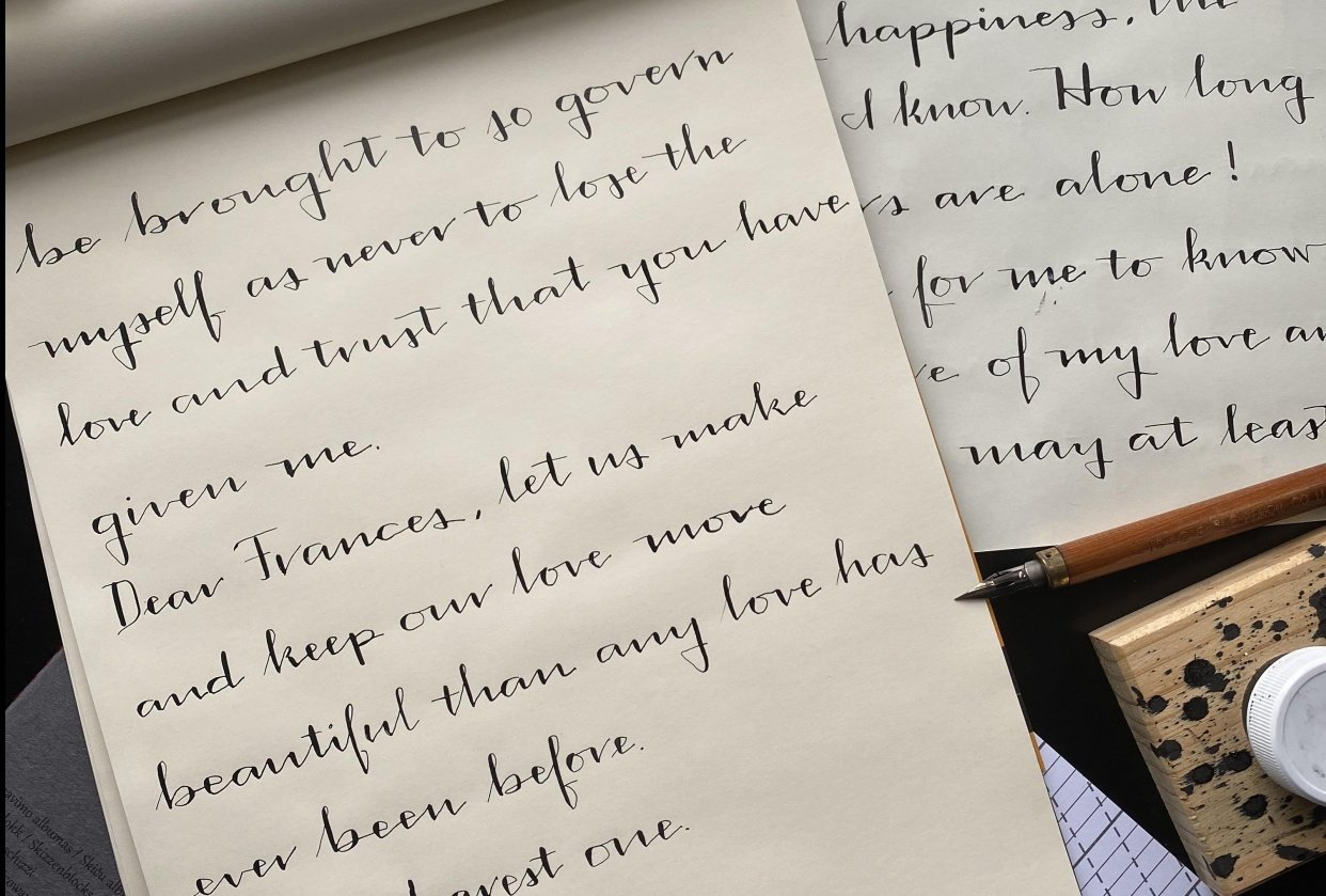 Letter from Rockwell Kent to his wife Frances - student project