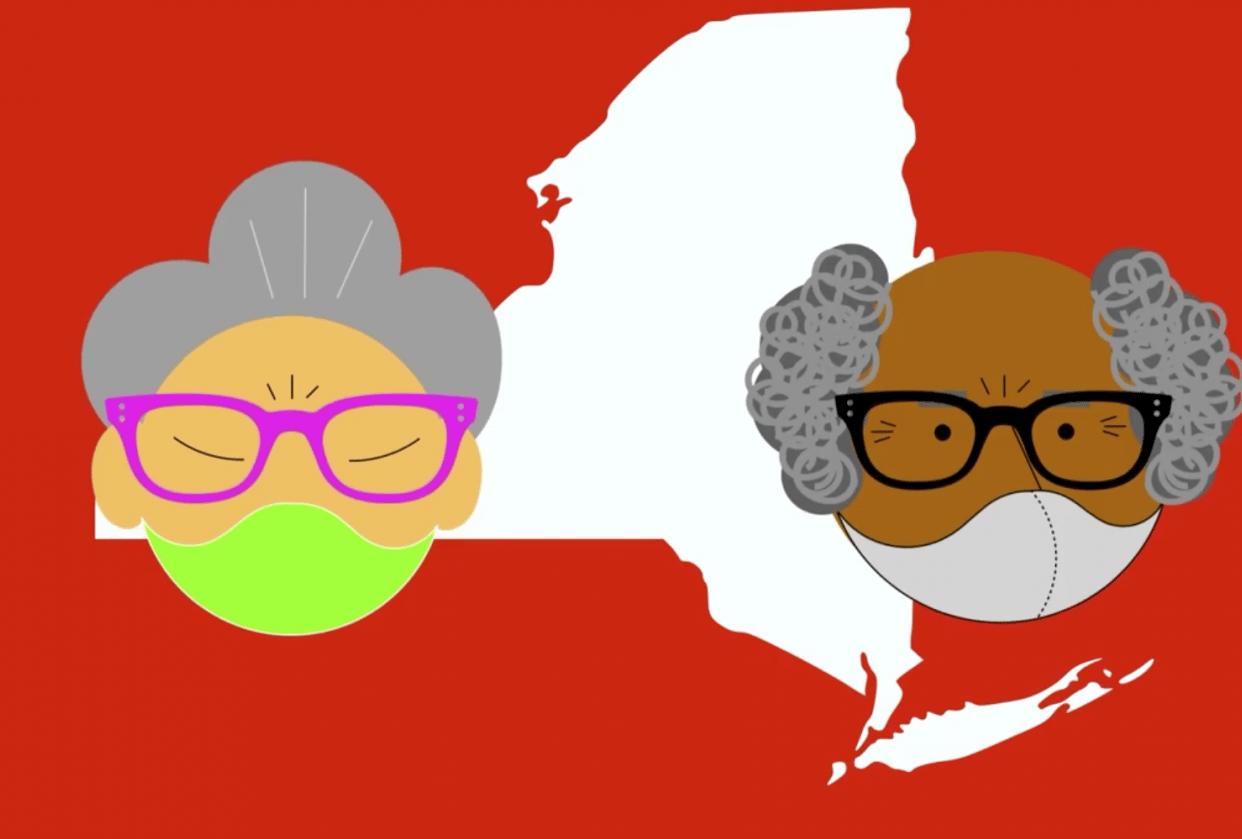 New York Tough Wear a Mask PSA - student project