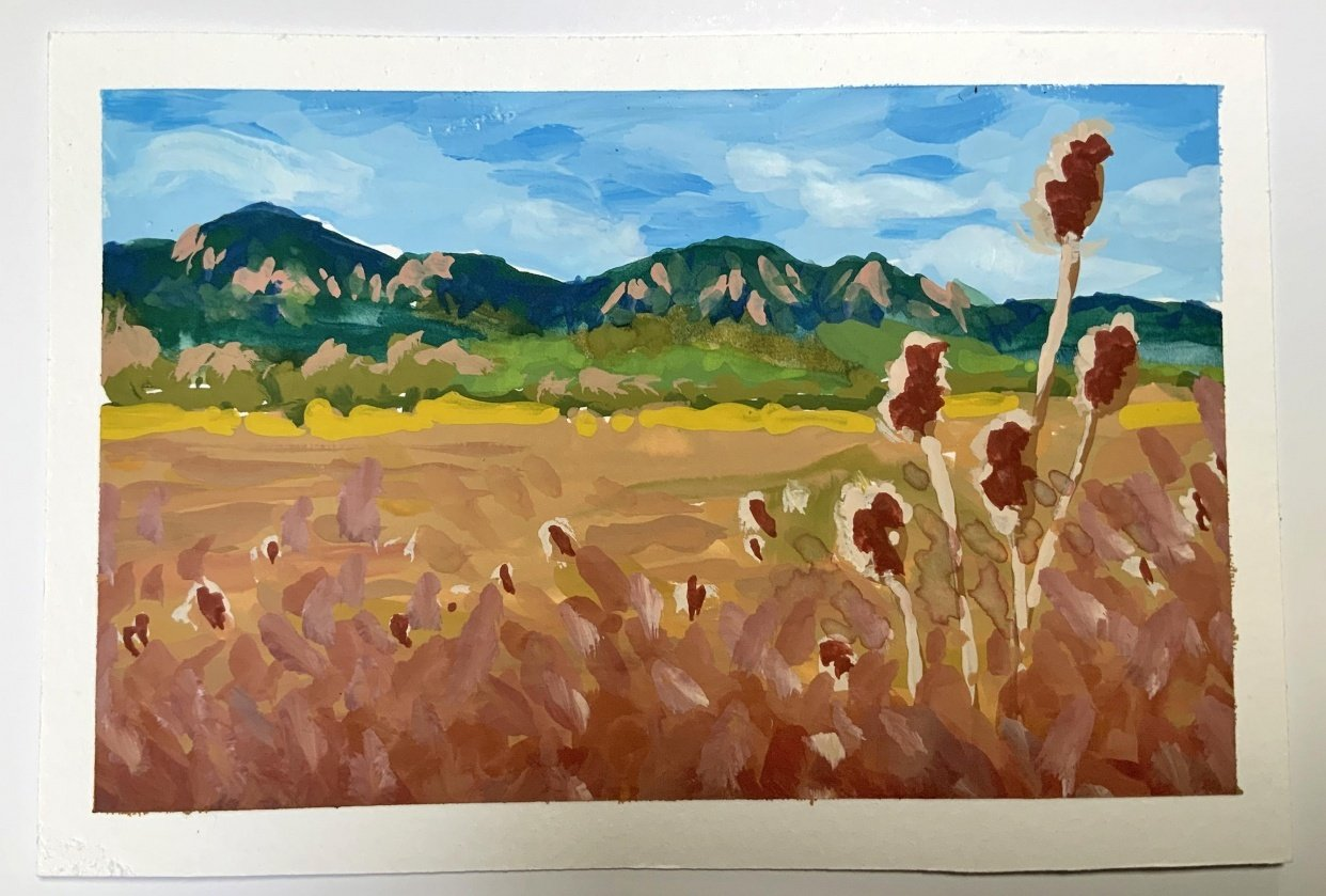 Colorado Landscape - student project