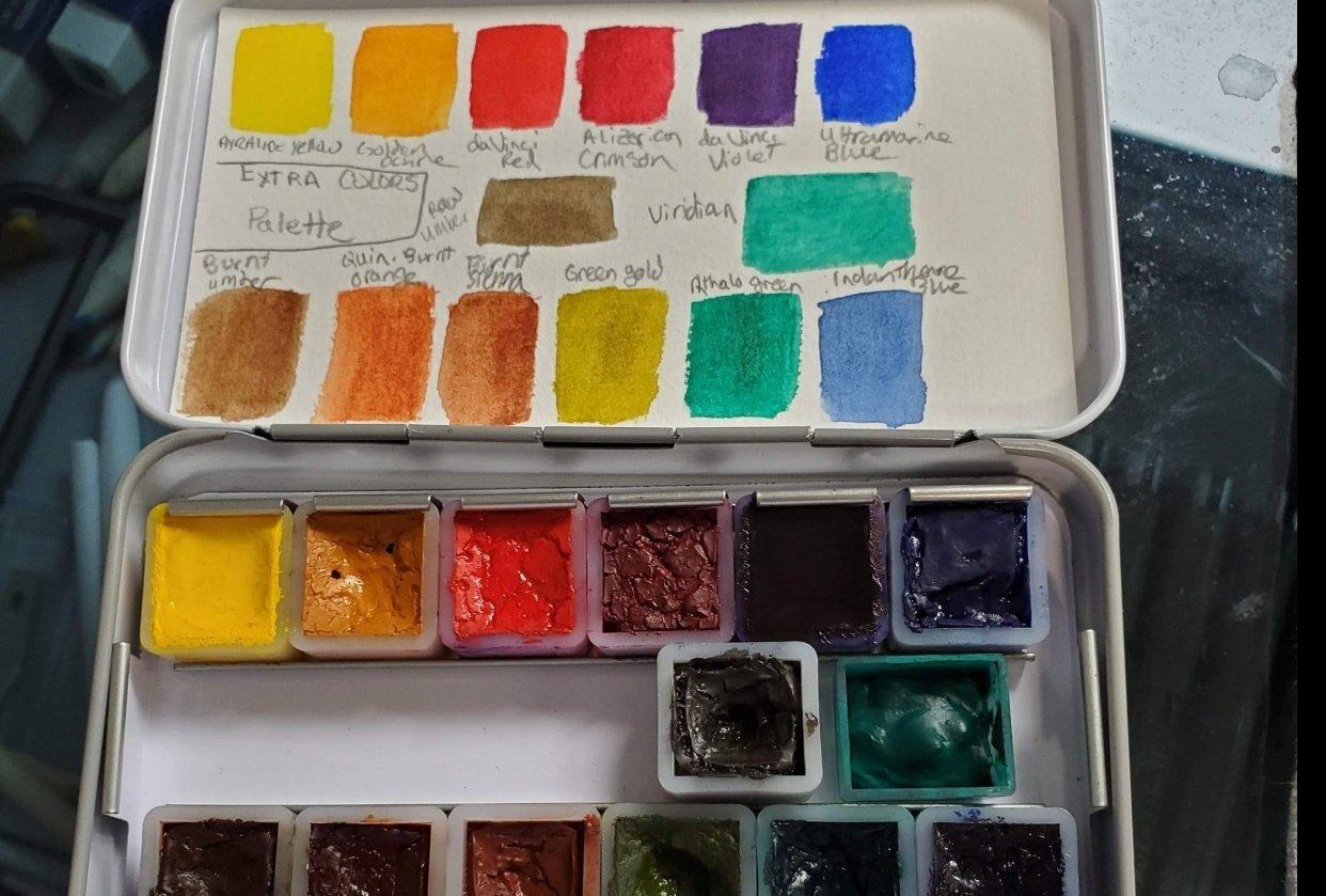 Custom Palette - student project
