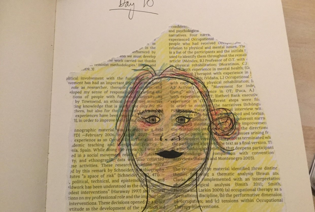 10 Days of Selfies - student project