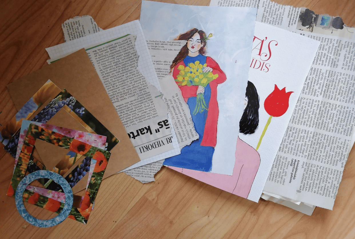 Snail mail revolution - student project