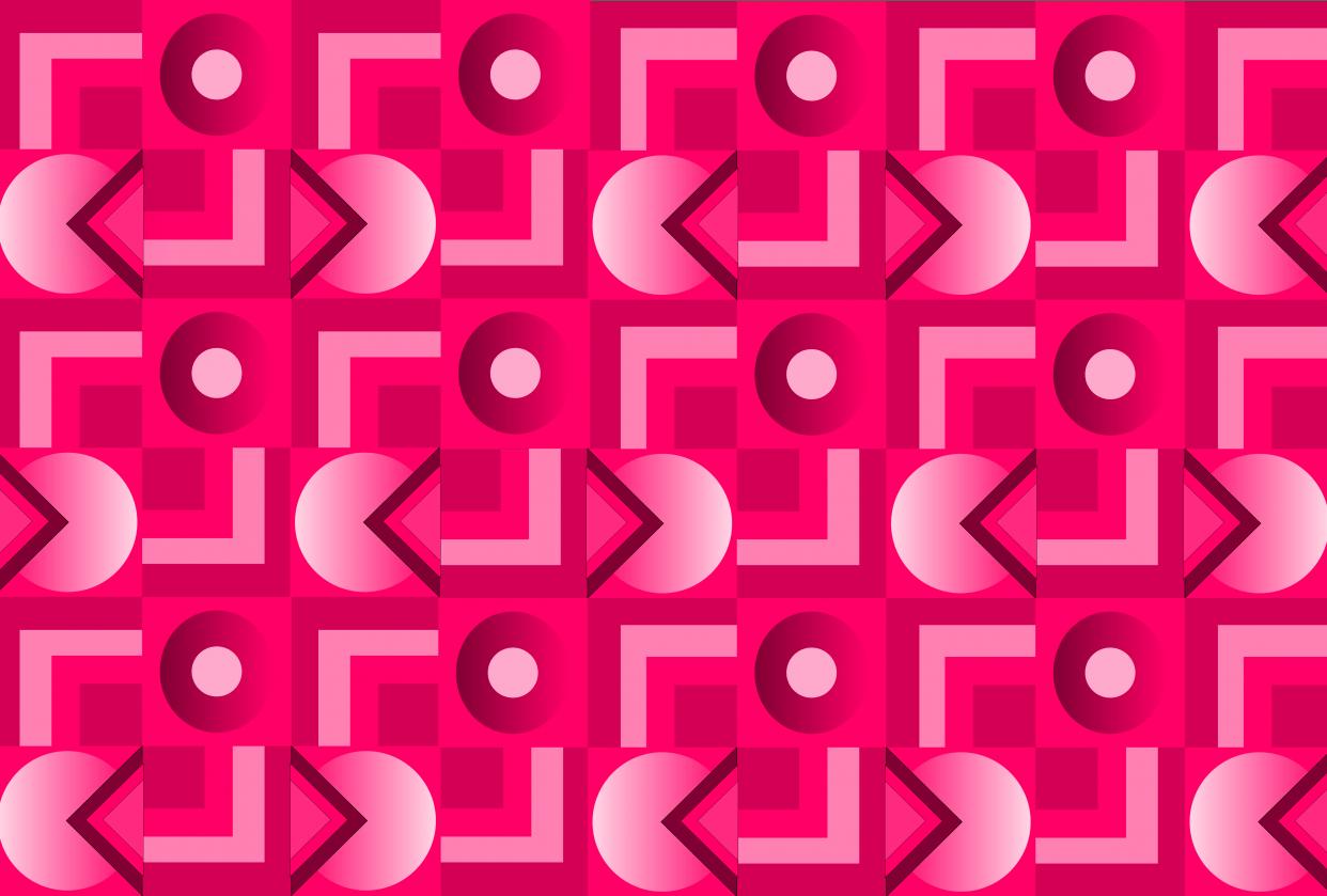 Geometric Pattern - student project