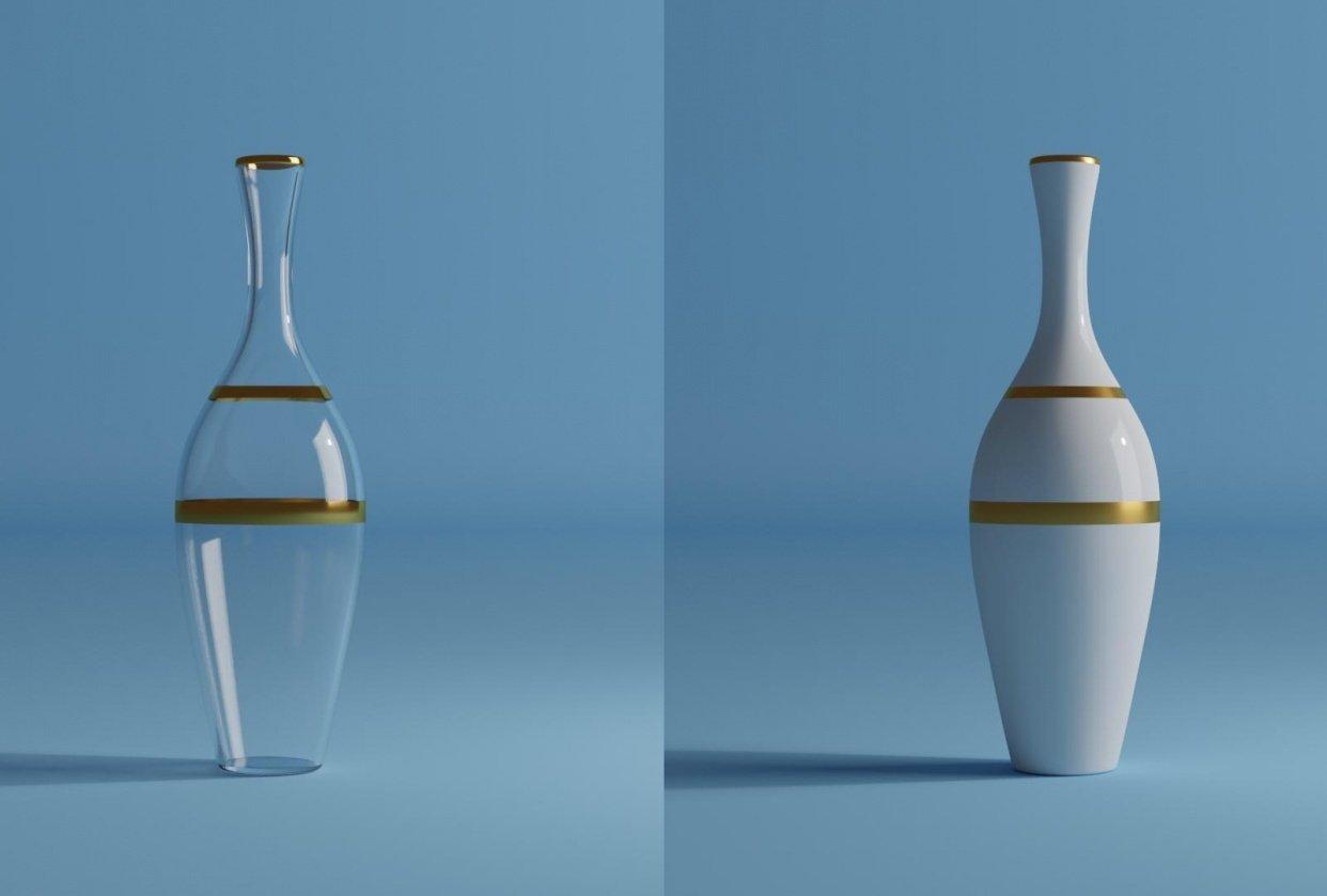 3D Vase - student project