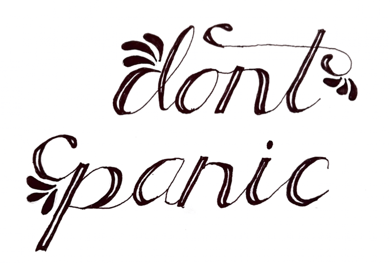 Don't Panic - student project