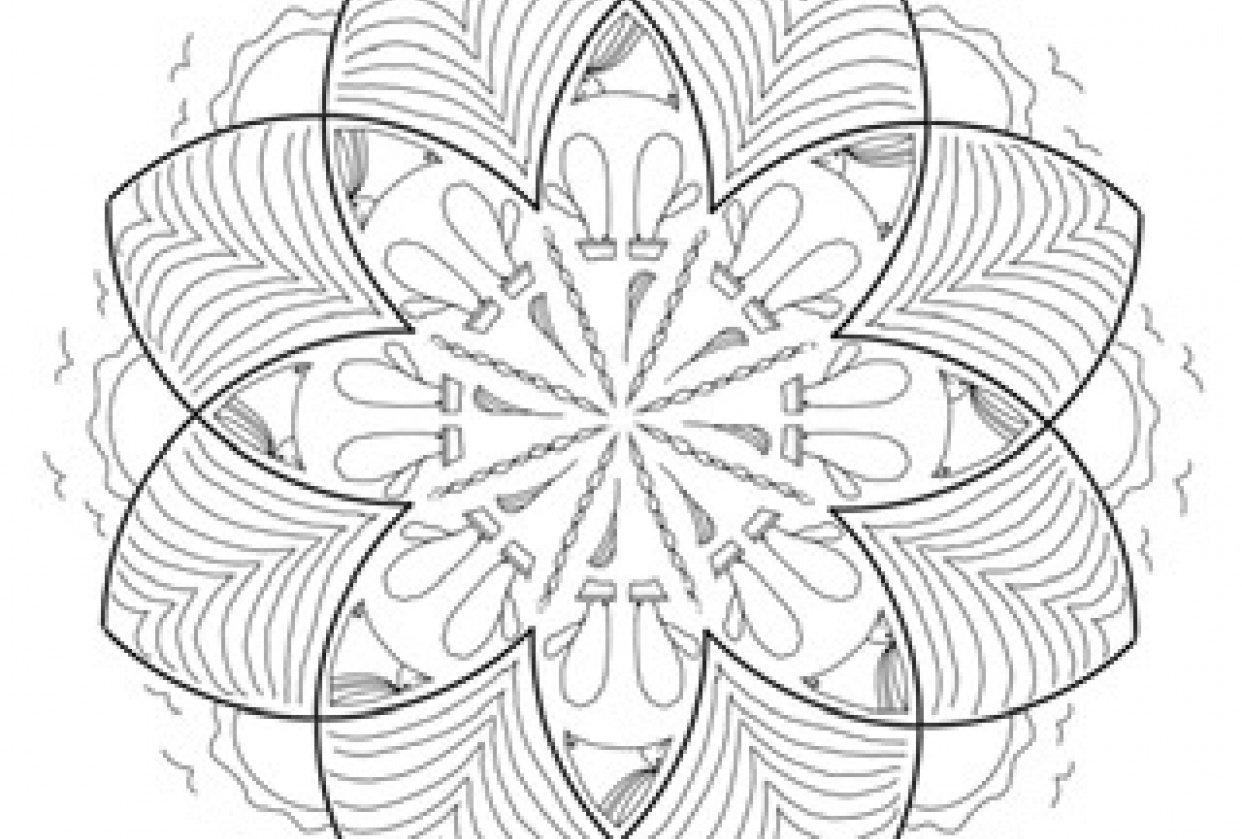 My plain mandala - student project