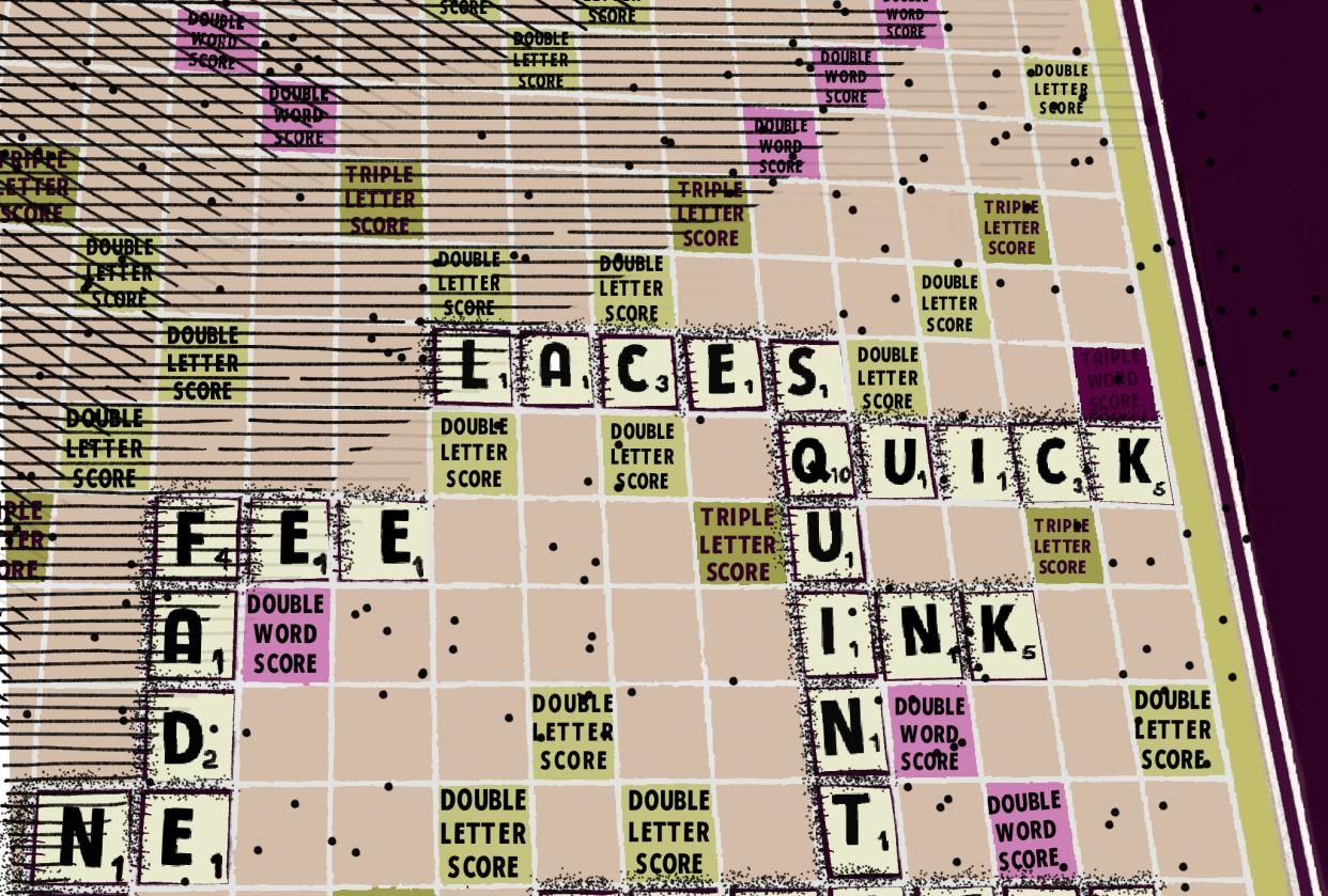 Scrabble #ipadinkchallenge - student project