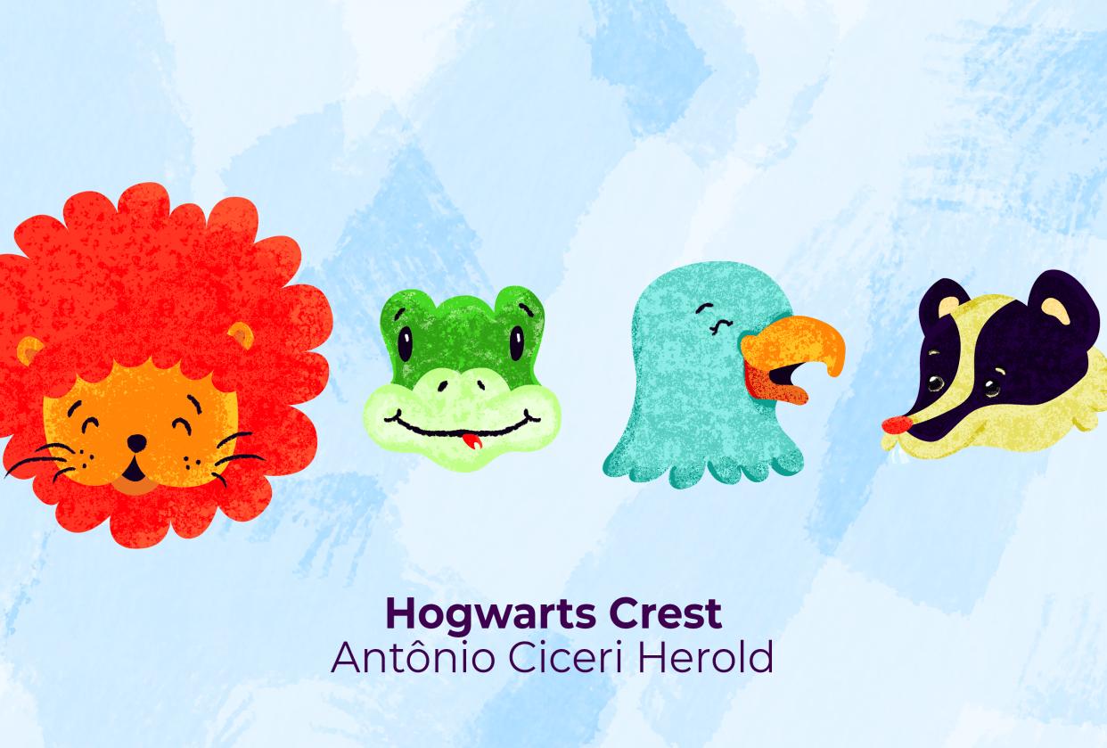 Harry Potter - Hogwarts Crest - student project
