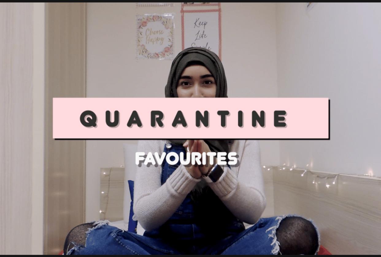 Quarantine Favourites - student project