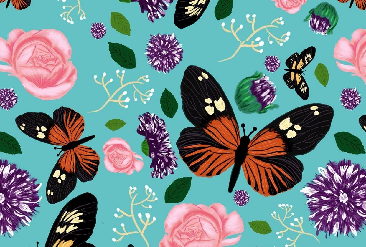 Butterfly Dream Land - student project