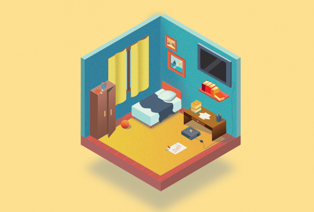 My Room - student project