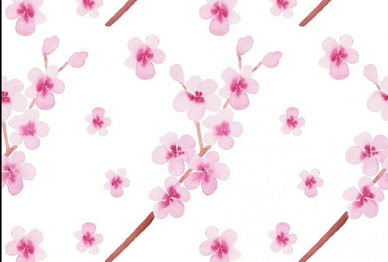 Sakura pattern - student project
