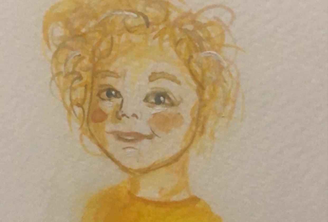 Little faces - Portrait of my son - student project