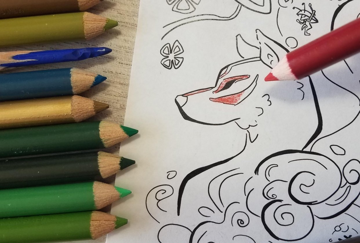 Coloring Pages - student project