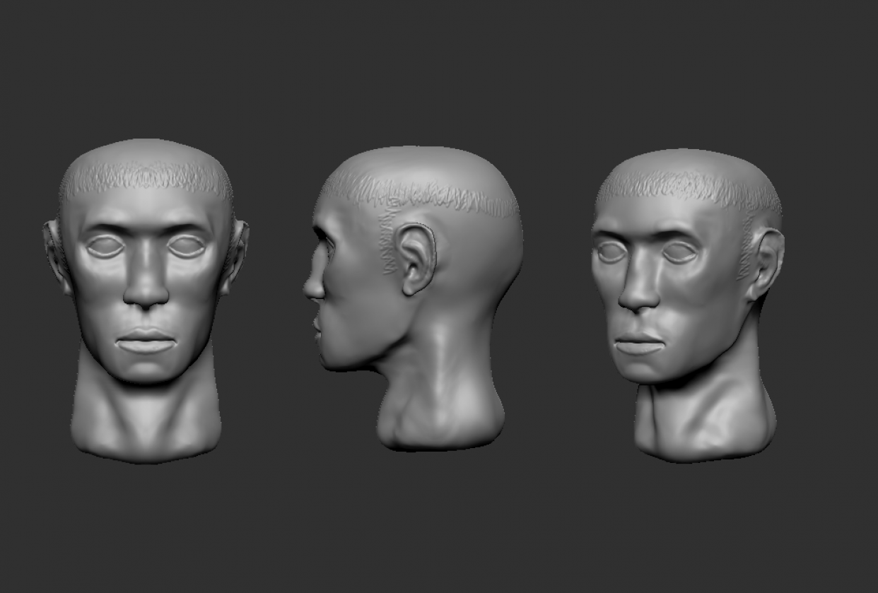 My first time in ZBrush =) - student project