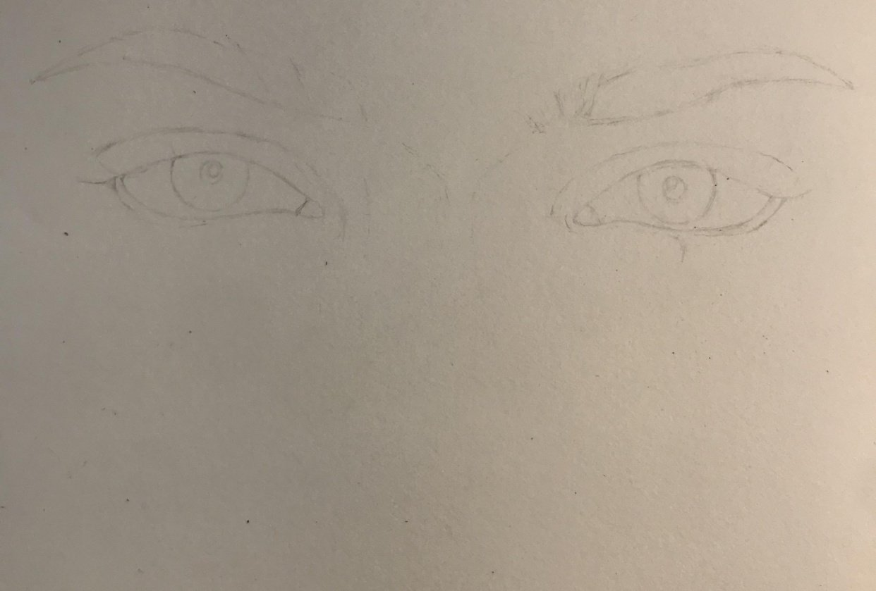 Eyes Sketch - student project