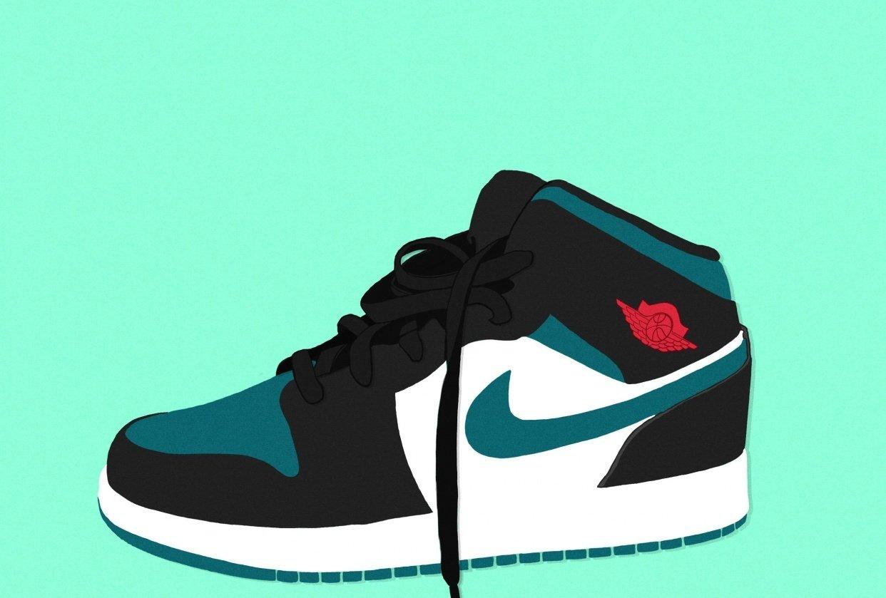 Air Jordan 1 - student project