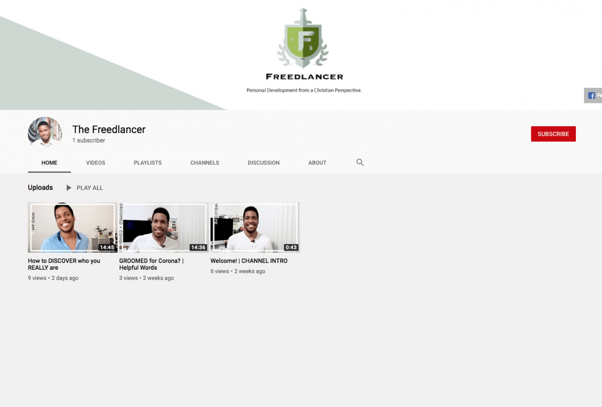 My Channel - student project