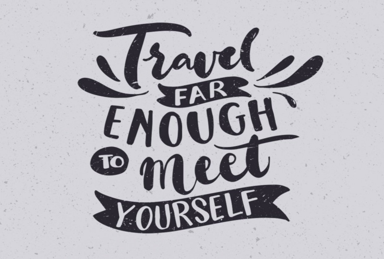 travel far enough to meet your self - student project